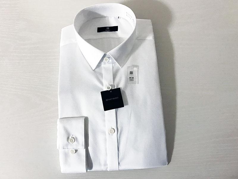 SUIT SELECTのストレッチワイシャツがコスパ抜群!