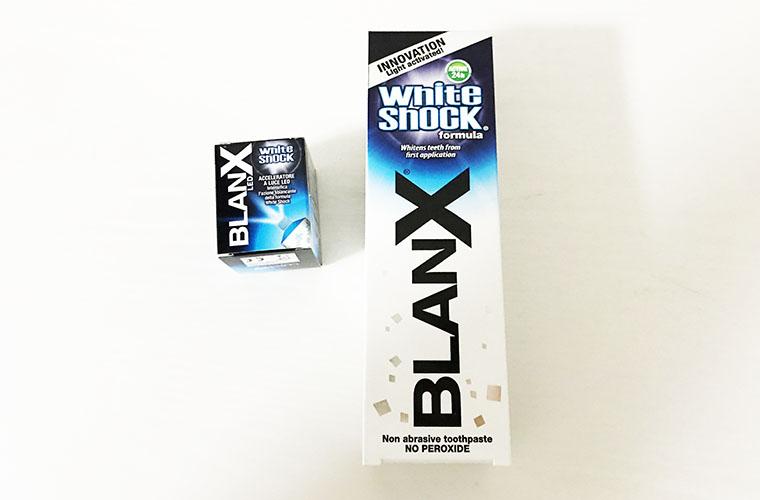 楽天ランキング上位!BLANXホワイトショックを実際に使ってみた。
