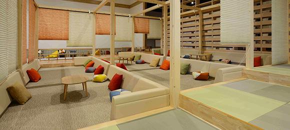 江戸遊 リラックススペース